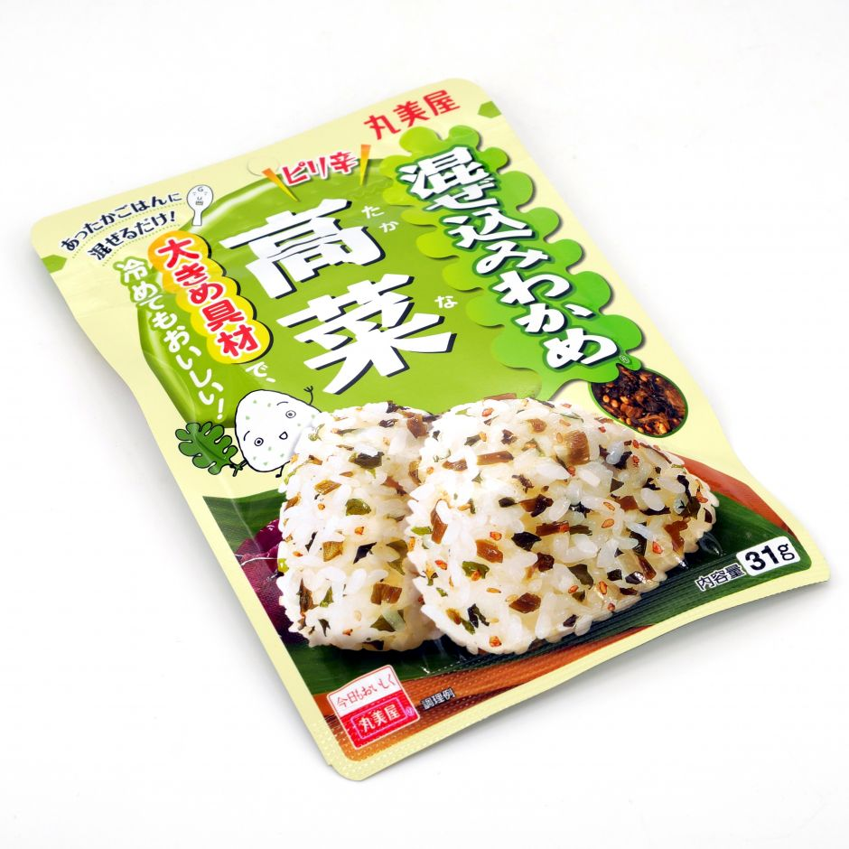 Seasoning for rice with mustard flavour - WAKAME TANAKA